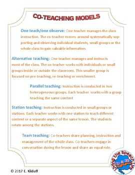 Co-teaching models