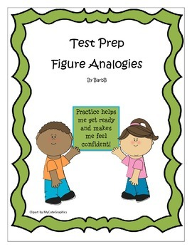 CoGAT / Gifted test prep  ~  Figure Analogies