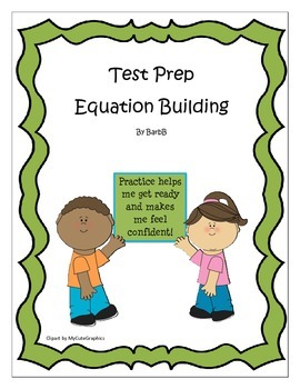 CoGat test prep / Gifted Test Prep ~ Equation Building