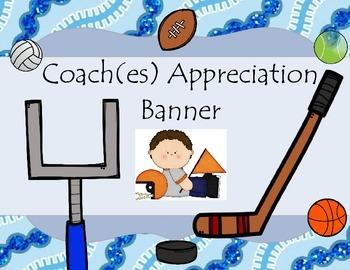Coach Appreciation Banner