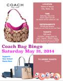 Coach Bag Bingo Night Promotion Pack
