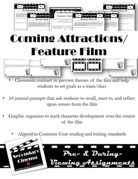 Coach Carter Film Unit: Common Core-Aligned Assignments & Activities