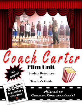 Coach Carter Film Unit: Common Core-Aligned Assignments & Activities