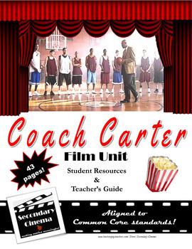 Coach Carter Film Unit: Common Core-Aligned Assignments &
