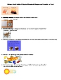 Picture Study Guide for Physical and Chemical Change - 5th