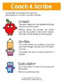 Coach & Scribe (Math Centers)