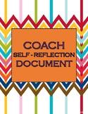 Coach Self-Reflection Document