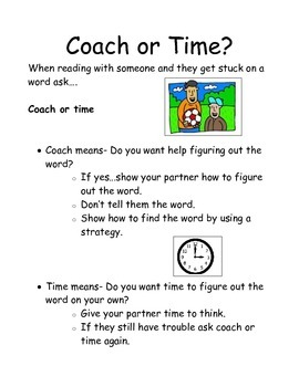 Coach or Time