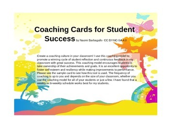 Coaching Cards for Student Success