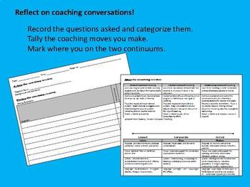 Instructional Coaching Conversations: Reflection for the Coach
