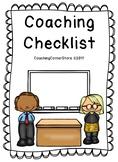 Coaching Checklist