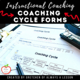 Instructional Coaching: Coaching Cycle Visual [Editable]