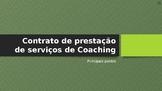 Coaching - Entrevista Inicial: Contrato