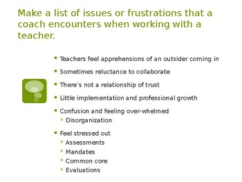 Coaching In A Culture of Common Core