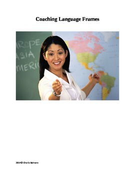 NEW: Coaching Language Frames for Instructional Coaches