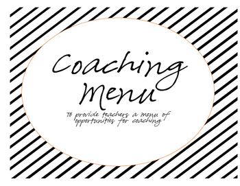 Coaching Menu