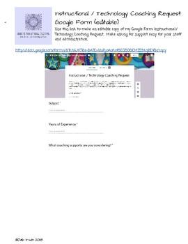 Coaching Request via Google Form