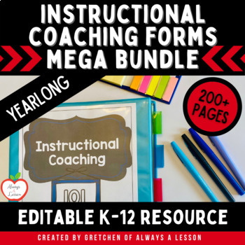 Instructional Coaching: Resources GROWING Bundl