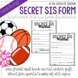 Coaching: Secret Sister Wishlist Form