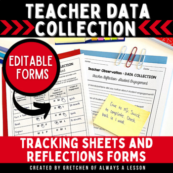 Instructional Coaching: Teacher Data Collection Tool