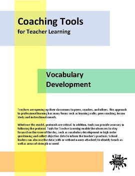 Coaching Tools for Vocabulary Instruction
