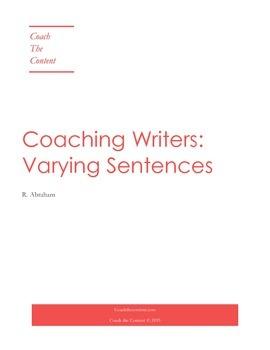 Coaching Writers: Sentence Variety