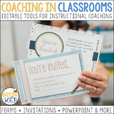 Coaching in Classrooms: Printable & Editable Kit for Instr