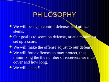 Coaching the RV 3-5-3 Defense