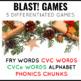 Coal! Christmas Phonics and Sight Word Blast Game
