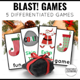 Coal! Christmas Phonics and Sight Word Blast Game