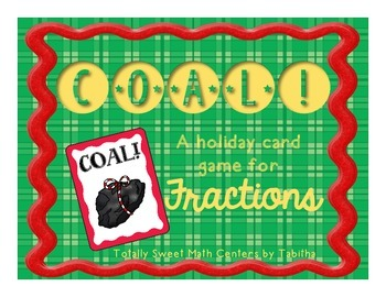 Coal! A Holiday Card game of Comparing Fractions