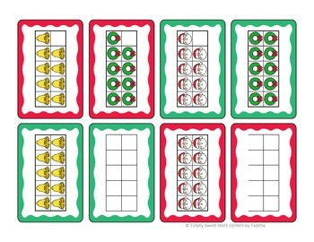 Coal! A Holiday Card game of Comparing Numbers 0-10