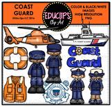 Coast Guard Clip Art Bundle {Educlips Clipart}