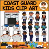 Coast Guard Kids l Armed Forces & Community Helpers Clipar
