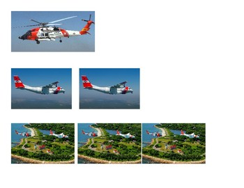 Coast Guard counting 1 to 3