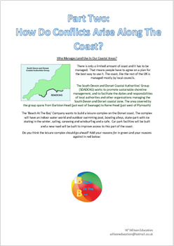 Coastal Assessment - Dorset, Its landforms, Uses And Conflicts
