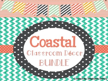 Coastal / Beachy Classroom Decor