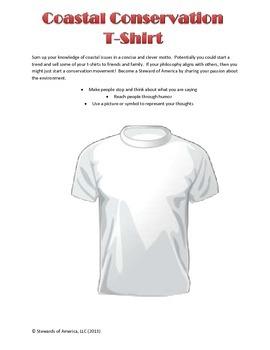 Coastal Environmental T-shirt Design Activity