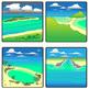 Coastal Landforms - Geology Clip Art