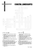Coastal Landscapes Crossword Puzzle