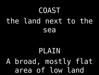 Coastal Plain of Georgia PowerPoint