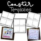 Coaster Templates for Gifts