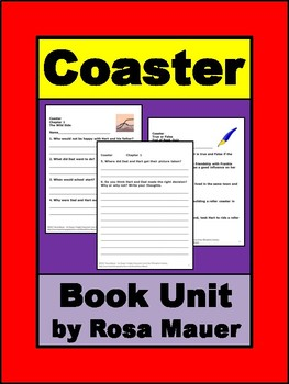 Coaster by Betsy Duffey Novel Study