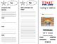 Coasting to California Trifold - California Treasures 3rd Grade Unit 2 Week 3