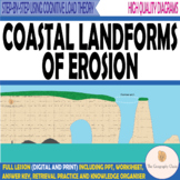 Coasts- Erosional Landforms- Bays, Headlands, Caves, Arch,