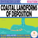Coasts- Landforms of Deposition- Beaches, Spits, Bars, Tom