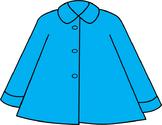 Coat Clip Art // Winter/Rain Coat in 13 Different Colors!!