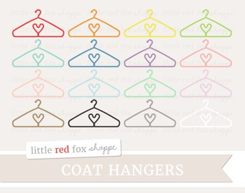Coat Hanger Clipart; Clothes, Clothing Hanger