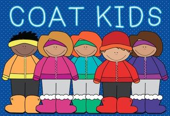 Coat Kids Clipart