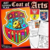 Coat of ARTS: Art Lesson Plan , Coat of Arms